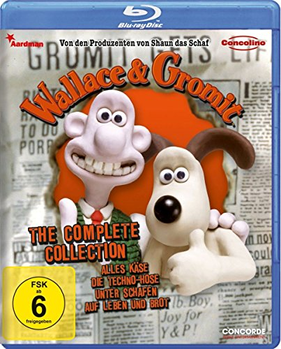 Wallace & Gromit - The Complete Collection [Blu-ray] von -