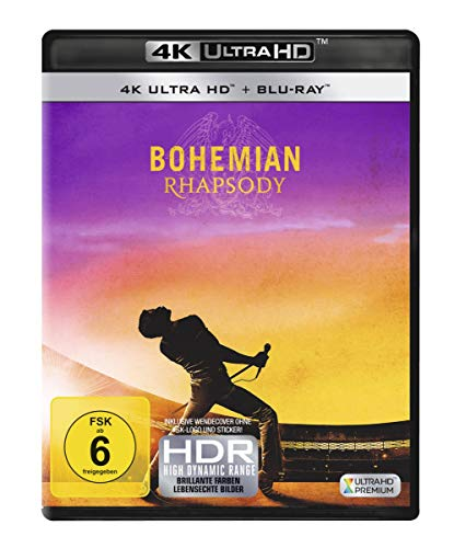 Bohemian Rhapsody (4K Ultra HD + Blu-ray) [Blu-ray] von 20th Century Fox Home Entertainment