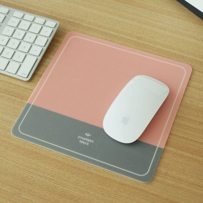 @A Office Mauspads Gaming Mauspads Office Mouse Pad Mouse Pad Apple Notebook Spiel Anti SlipRosa Grau von @A Office