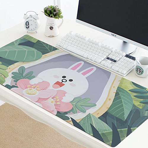 @A Office Mauspads Gaming Mauspads Super Cute Office Notebook Mauspad Matte Dicke Naht Wasserdicht, Bär 19.300X780Mmx3Mm von @A Office