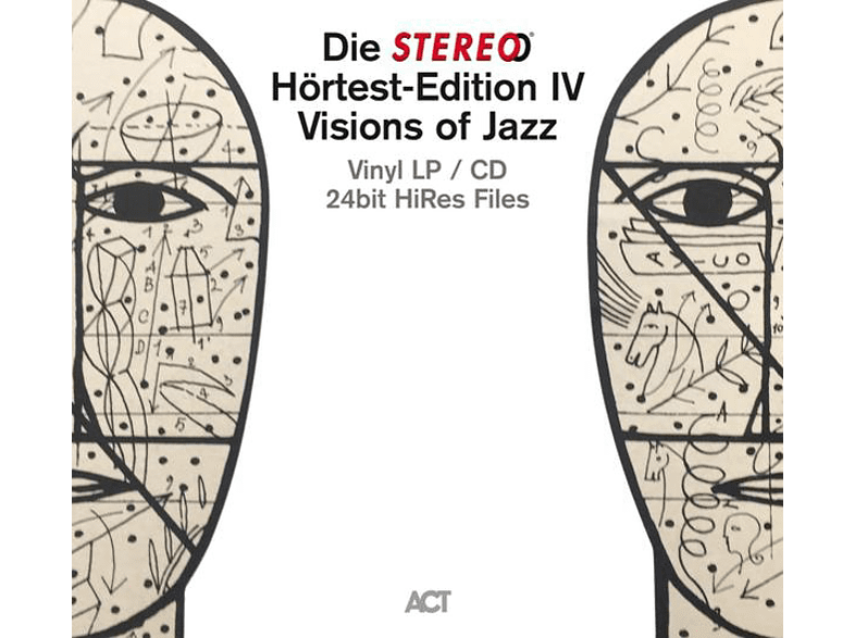 Stereohörtest Edition-Visions Of Jazz VARIOUS auf LP + Bonus-CD online von ACT