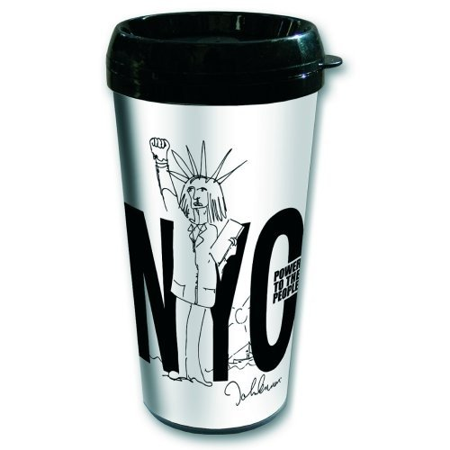 Travel Mug-NYC/Power to the People von AMBROSIANA