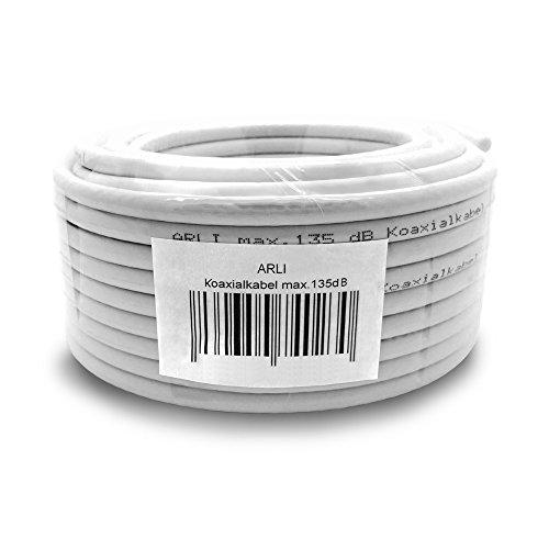 HD Winkel Anschlusskabel 1m Satkabel 135dB Sat TV Koax Kabel Digital 4K UHD ARLI