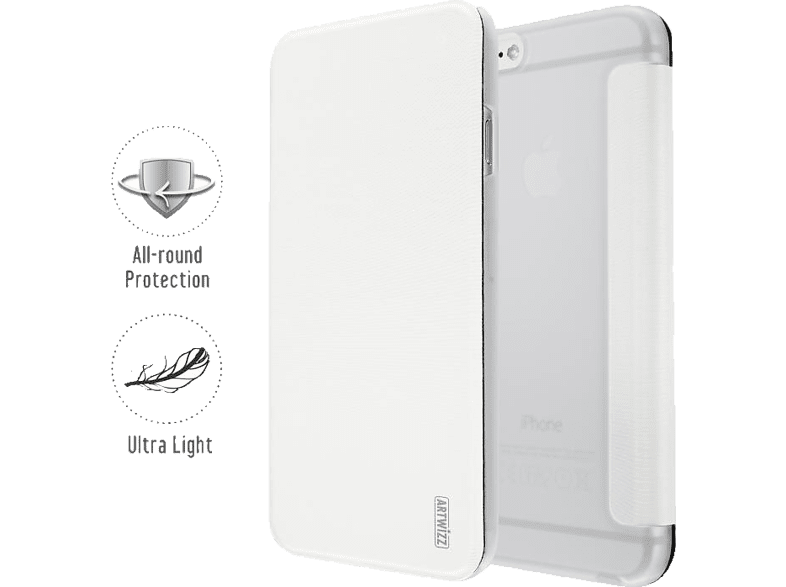 ARTWIZZ SmartJacket®  für Apple iPhone 6 in Weiß von ARTWIZZ