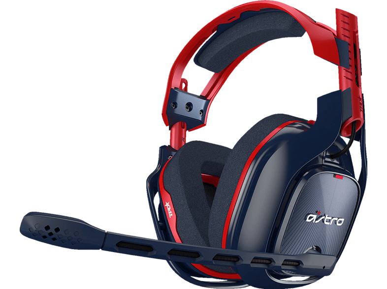 ASTRO GAMING A40 TR X-Edition  Gaming Headset, Rot/Blau von ASTRO GAMING