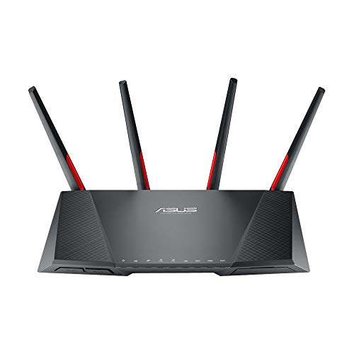 Asus DSL-AC68VG VOIP Modem Router (DE-Version, WiFi 5 AC2300 MU-MIMO, Anrufbeantworter, Gigabit LAN, AiProtection, Dual-Core CPU, Multifunktion USB 3.0) von ASUS