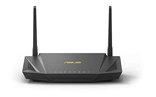 Asus RT-AX56U Home Office Router (Ai Mesh WLAN System, WiFi 6 AX1800, Gigabit LAN, AiProtection, USB 3.0, VPN, PPTP, OpenVPN) von ASUS