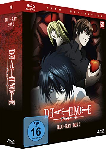 Death Note - Box 2 - [Blu-ray] von AV Visionen