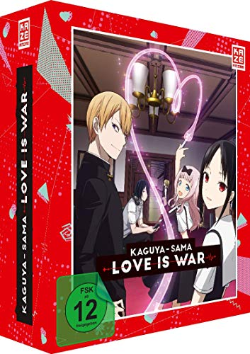 Kaguya-sama: Love Is War - Vol.1 - [DVD] mit Sammelschuber von AV Visionen