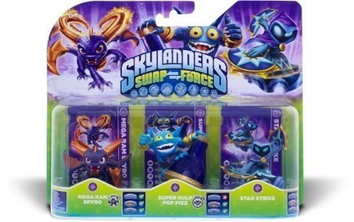 ACTIVISION Skylanders Swap Force Magic Triple Pack Spielzeug Hybrid von Activision