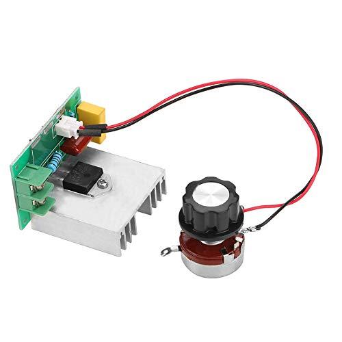 H HILABEE PWM DC Motor Drehzahlregler 4.5V 35V Drehzahlregelschalter LED Dimmer 5A