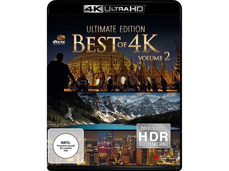 Best of 4K - Ultimate Edition 2 [4K Ultra HD Blu-ray] von BUSCH MEDI