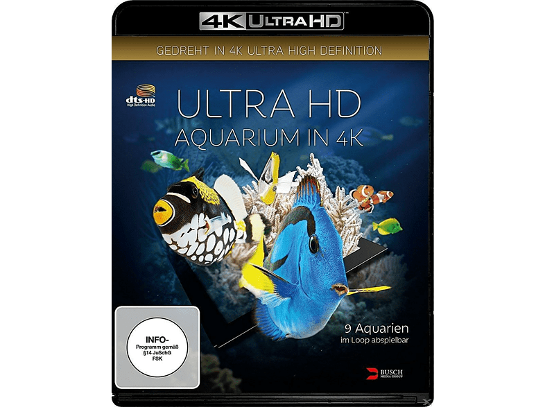 ULTRA HD AQUARIUM IN 4K [4K Ultra HD Blu-ray] von BUSCH MEDI