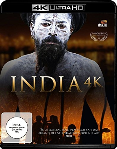 India 4K (4K Ultra HD Blu-ray + Blu-ray 3D, Special Edition) von Alive