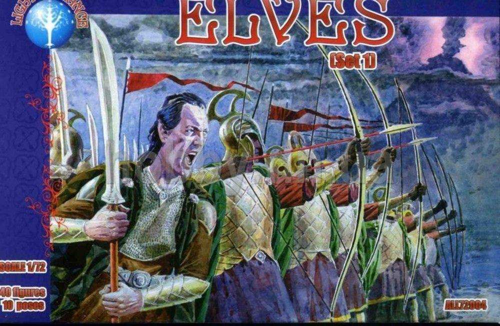 Elves, set 1 von Alliance