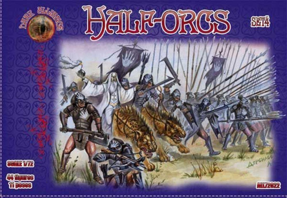 Half-Orcs, set 4 von Alliance