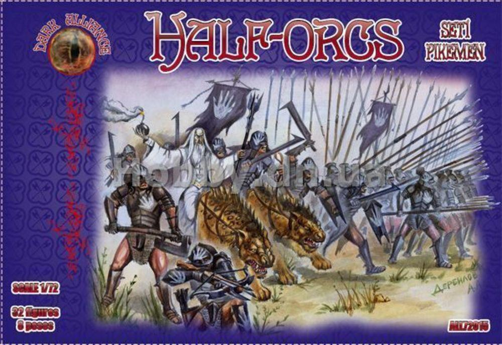 Half-Orcs pikemen, set 1 von Alliance