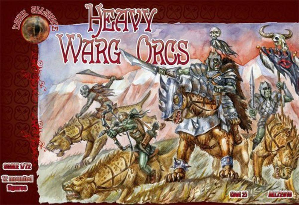 Heavy Warg Orcs von Alliance
