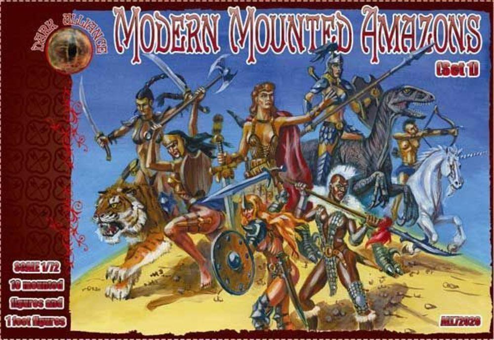 Modern Mounted Amazons, Set 1 von Alliance