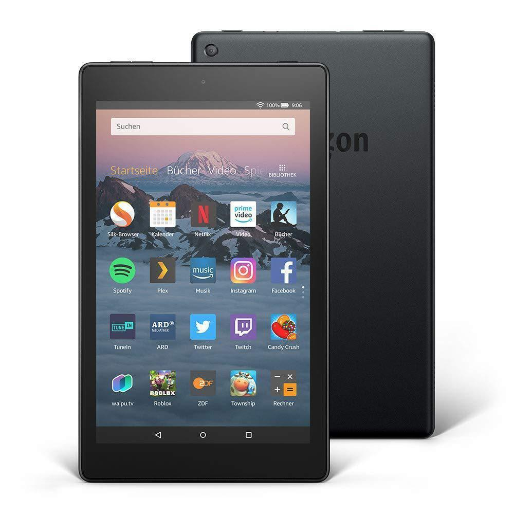 "Amazon Fire HD 10 Tablet mit Alexa Hands-free, mit Spezialangeboten, 10"" FULL HD IPS, 64 GB Speicher von Amazon"