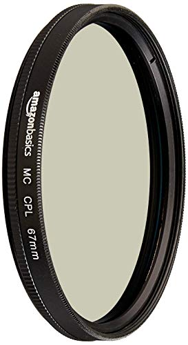Amazon Basics Zirkularer Polarisationsfilter - 67mm von Amazon Basics