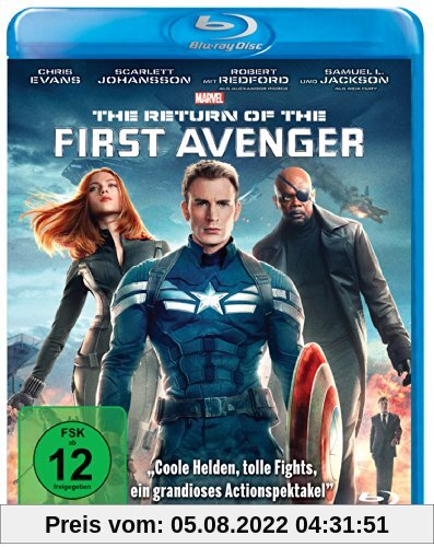The Return of the First Avenger [Blu-ray] von Anthony Russo