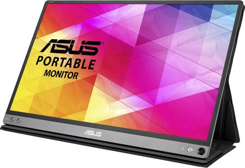 Asus MB16AC LED-Monitor 39.6cm (15.6 Zoll) 1920 x 1080 Pixel Full HD 5 ms USB-C™ IPS LED von Asus