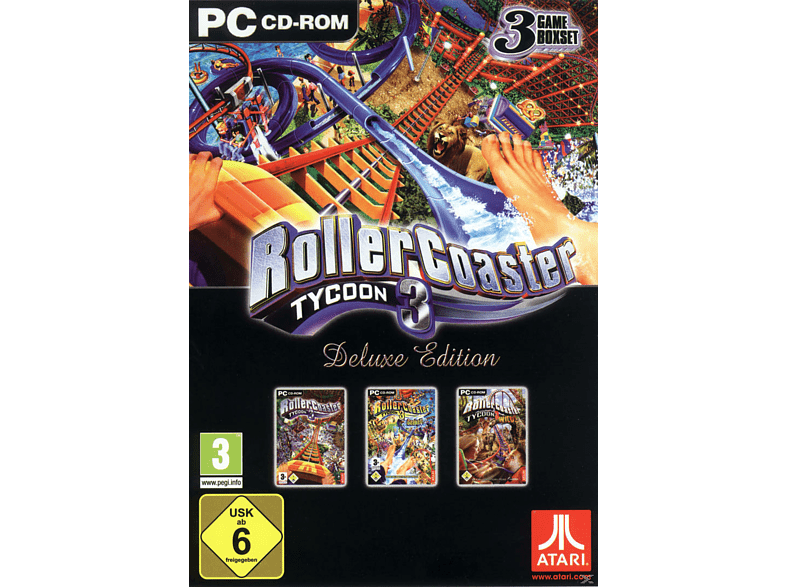 Rollercoaster Tycoon 3 - Deluxe Edition (Software Pyramide) [PC] von Atari