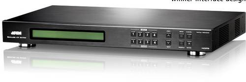 ATEN VM5404H-AT-G 4 Port HDMI-Matrix-Switch mit Fernbedienung 1920 x 1080 Pixel von Aten
