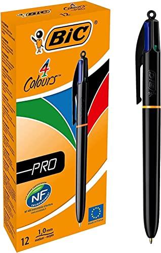 BIC Kugelschreiber Cristal Medium blau 0,4mm 10 Stück Kuli Büro Schule Stift