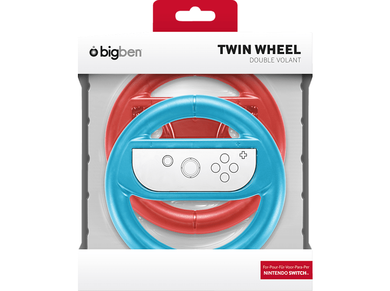 BIGBEN SWITCH Wheel Duo Pack Nintendo Switch Lenkrad von BIGBEN