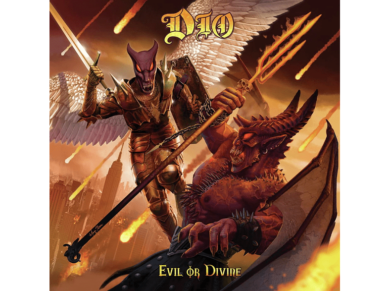 Dio - EVIL OR DIVINE LIVE IN NEW YORK CITY (CD) von BMG RIGHTS