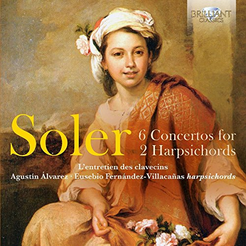 6 Concertos for 2 Harpsichords von BRILLIANT CLASSICS