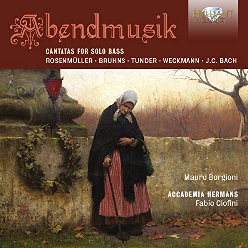 Abendmusik-Cantatas for Solo Bass von BRILLIANT CLASSICS
