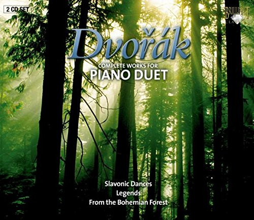 Dvorak: Complete Works for Piano Duet von BRILLIANT CLASSICS