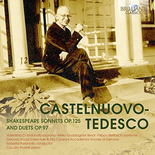 Shakespeare Sonnets Op.125 and Duets Op.97 von BRILLIANT CLASSICS