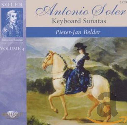 Soler: Keyboard Sonatas Vol.4 von BRILLIANT CLASSICS