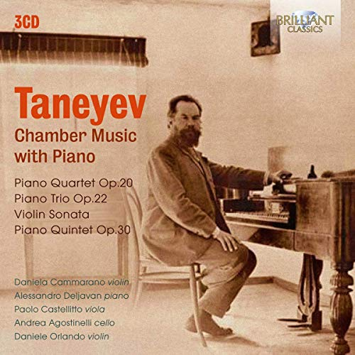 Taneyev:Chamber Music With Piano von BRILLIANT CLASSICS