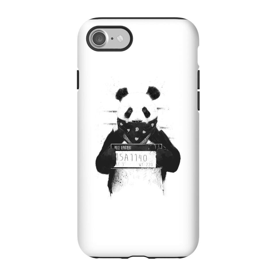 Balazs Solti Bandana Panda Phone Case for iPhone and Android - iPhone 7 - Tough Hülle Matt von Balazs Solti