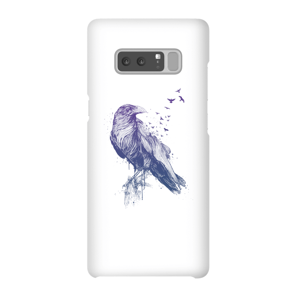 Balazs Solti Birds Flying Phone Case for iPhone and Android - Samsung Note 8 - Snap Case - Gloss von Balazs Solti