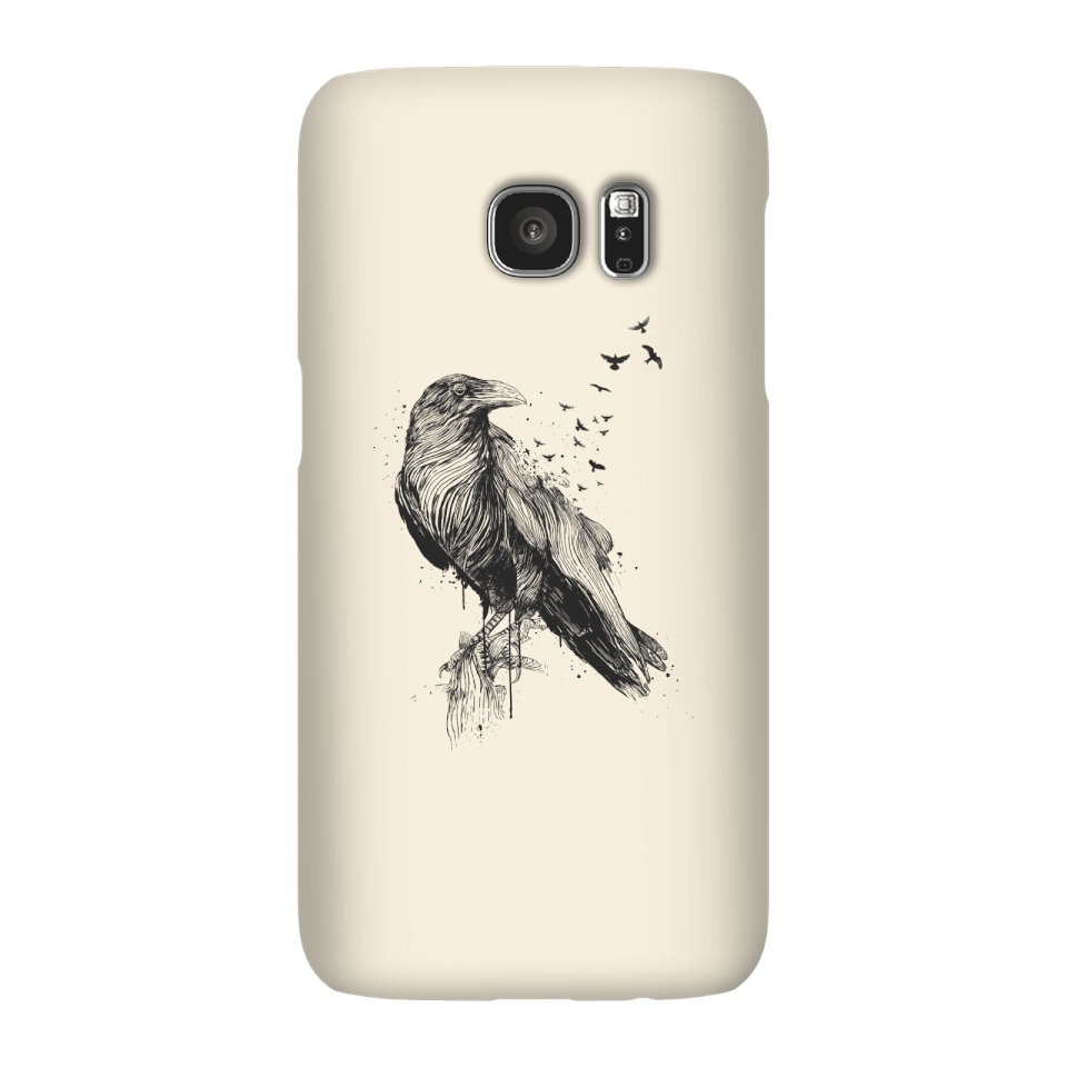 Balazs Solti Birds Flying Phone Case for iPhone and Android - Samsung S7 - Snap Hülle Glänzend von Balazs Solti