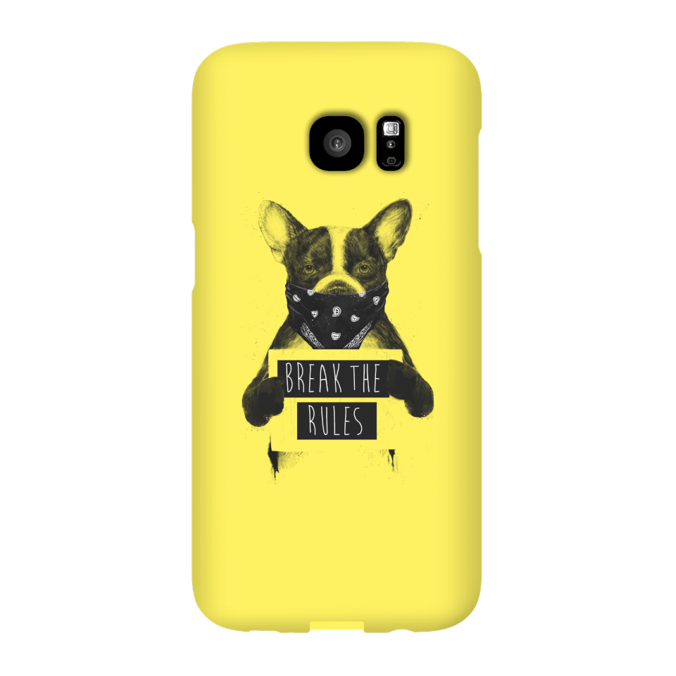 Balazs Solti Break The Rules Phone Case for iPhone and Android - Samsung S7 Edge - Snap Case - Matte von Balazs Solti