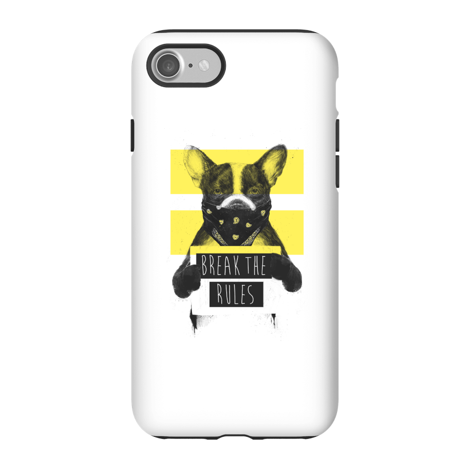 Balazs Solti Break The Rules Phone Case for iPhone and Android - iPhone 7 - Tough Hülle Matt von Balazs Solti