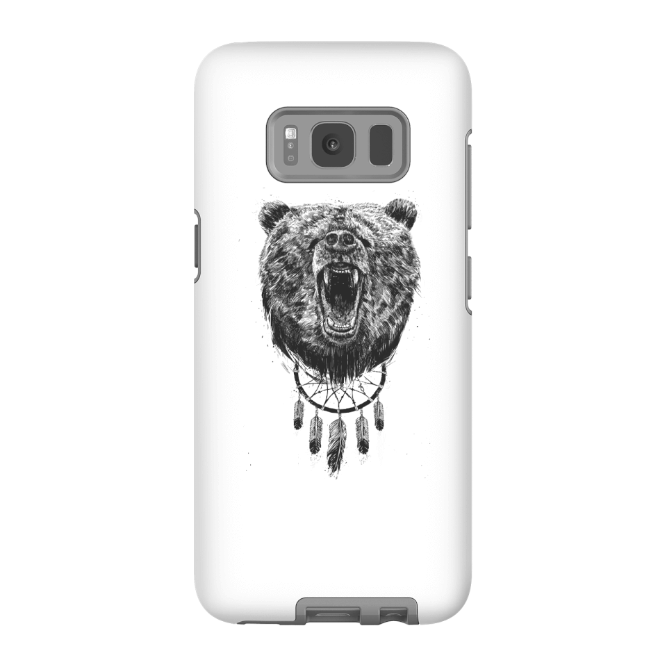 Balazs Solti Dreamcatcher Bear Phone Case for iPhone and Android - Samsung S8 - Tough Hülle Matt von Balazs Solti