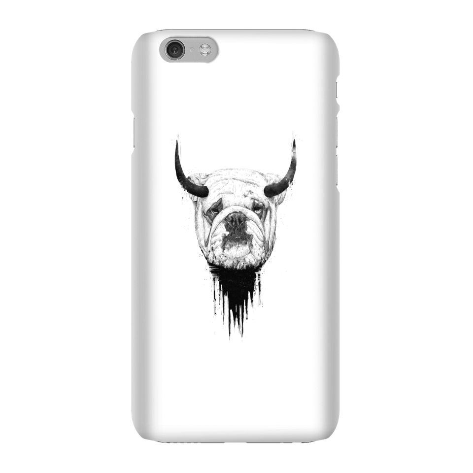 Balazs Solti English Bulldog Phone Case for iPhone and Android - iPhone 6 - Snap Hülle Glänzend von Balazs Solti