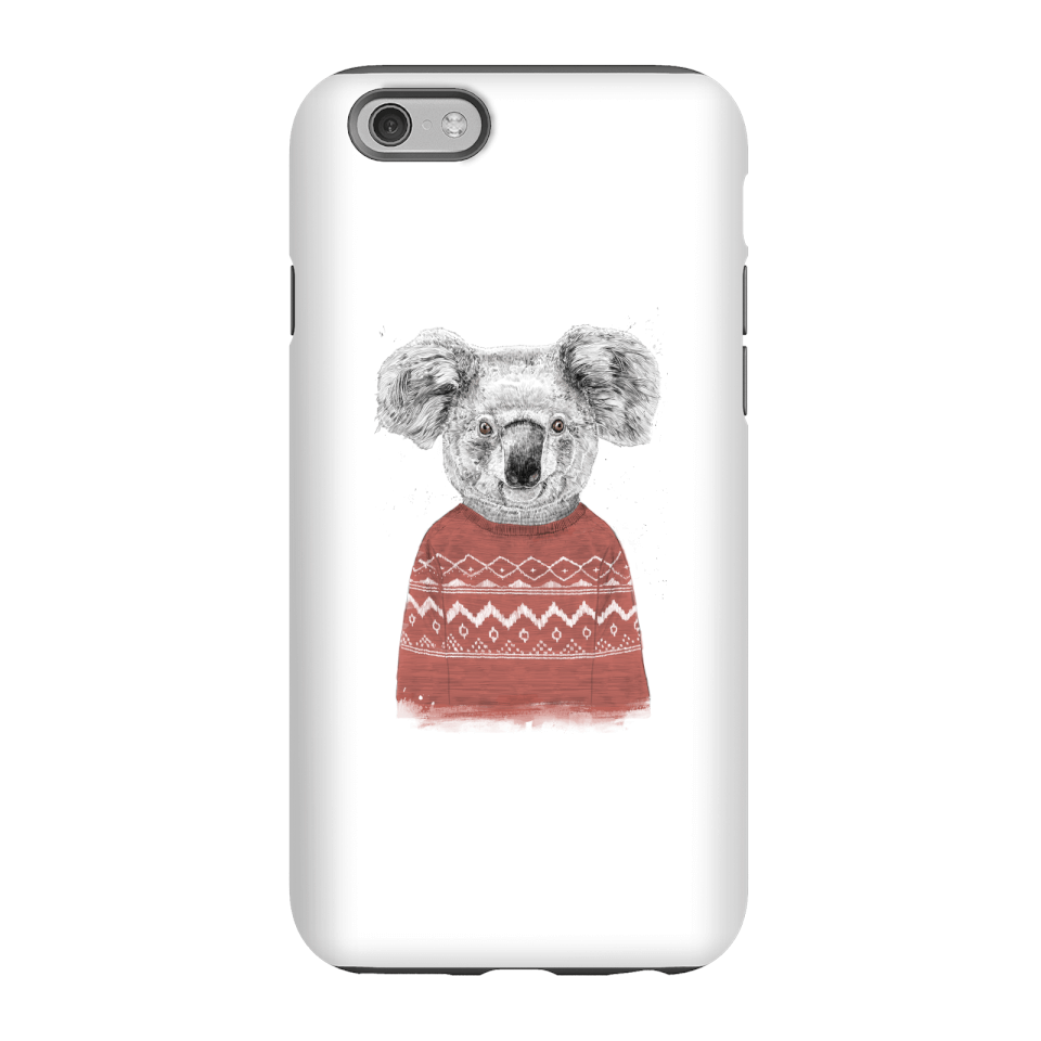 Balazs Solti Koala And Jumper Phone Case for iPhone and Android - iPhone 6 - Tough Hülle Matt von Balazs Solti