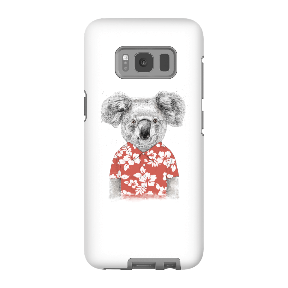 Balazs Solti Koala Bear Phone Case for iPhone and Android - Samsung S8 - Tough Hülle Glänzend von Balazs Solti