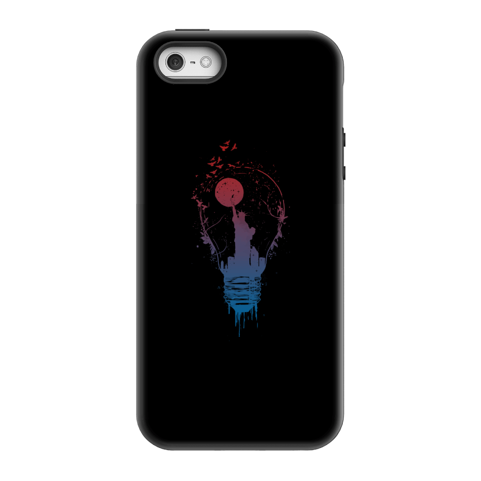 Balazs Solti NYC Moon Phone Case for iPhone and Android - iPhone 5/5s - Tough Hülle Matt von Balazs Solti