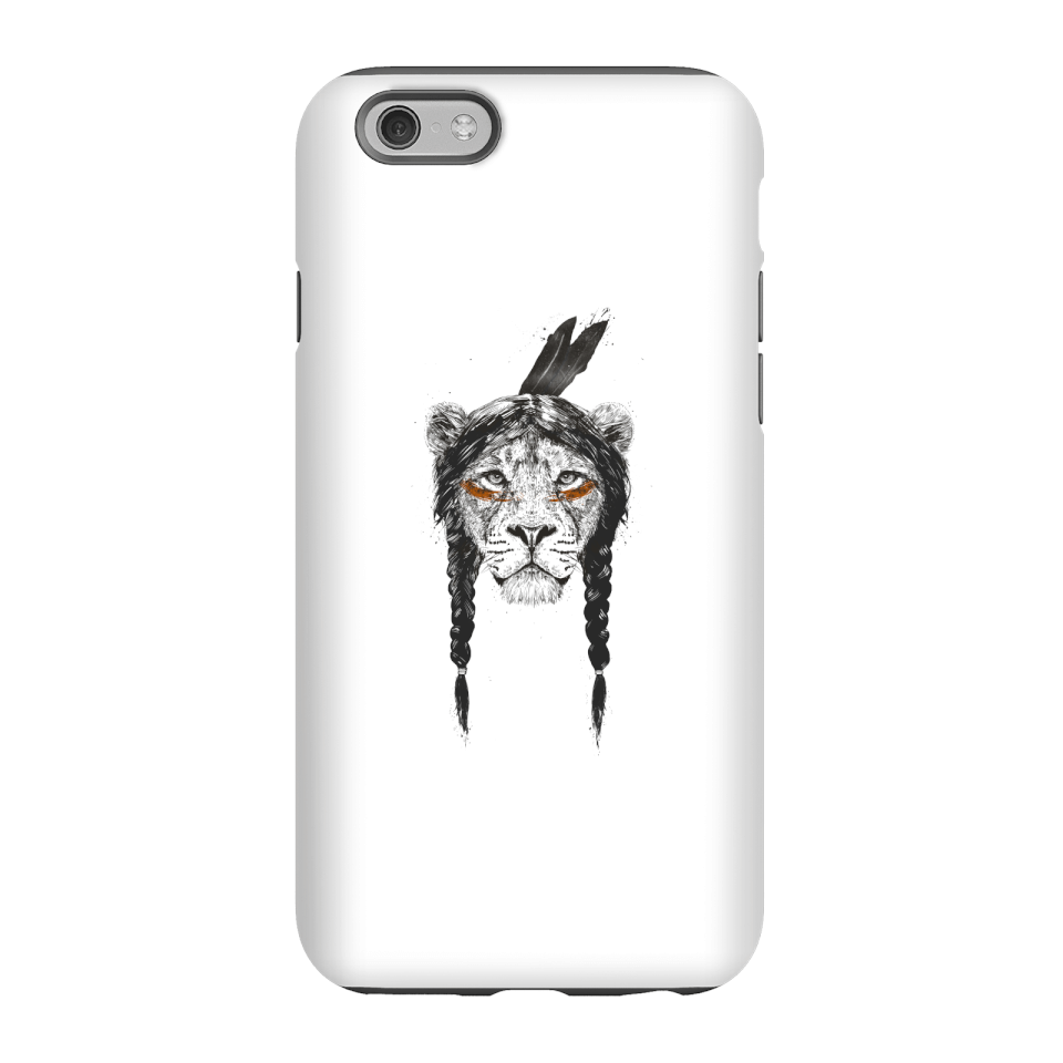 Balazs Solti Native Lion Phone Case for iPhone and Android - iPhone 6 - Tough Case - Matte von Balazs Solti