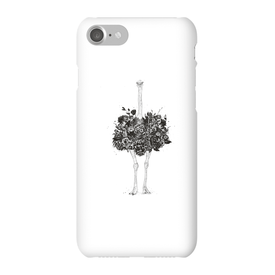 Balazs Solti Ostrich Phone Case for iPhone and Android - iPhone 7 - Snap Hülle Glänzend von Balazs Solti